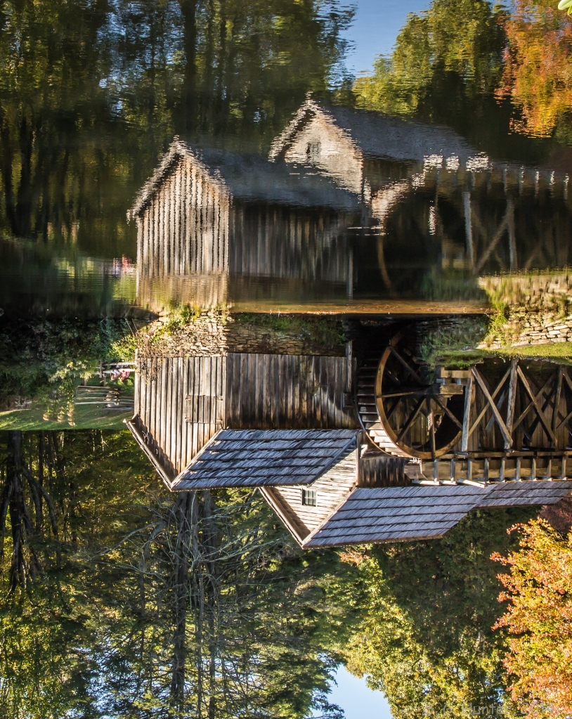 Mabry Mill Upside Down